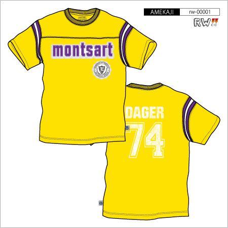 袖ラインTシャツ(MONTSART)