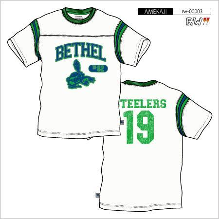 袖ラインTシャツ(BETHEL)