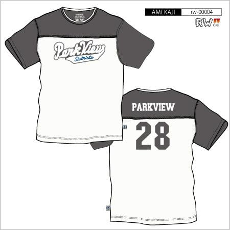アメカジ:フットボールTシャツ(PARKVIEW)