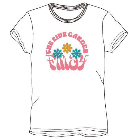 レディースプリントTシャツ:fm64