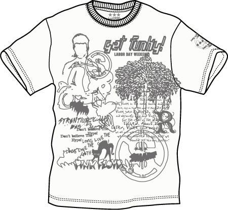 プリントTシャツ:get funk