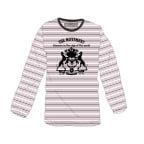 ボーダープリントロングスリーブTシャツ