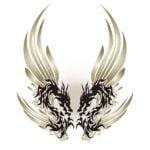 トライバルの龍・ドラゴン-009柄
