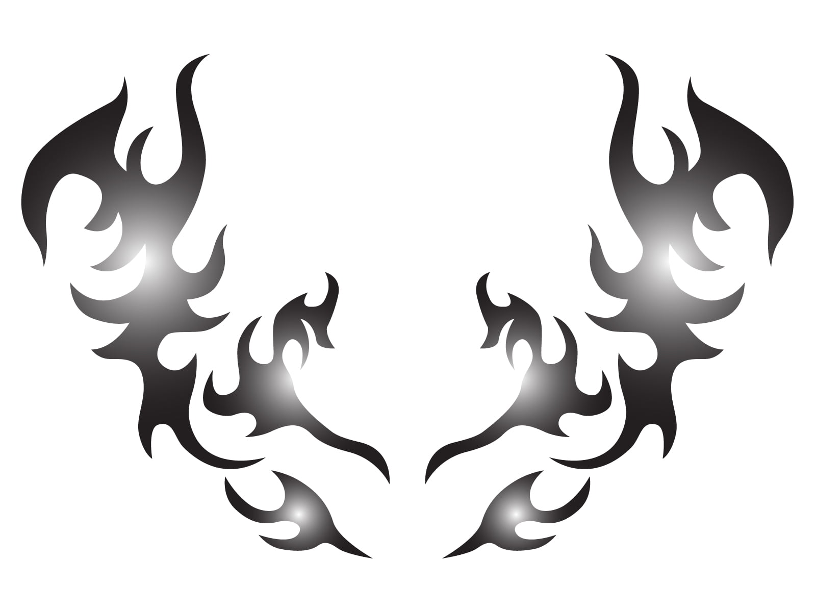 トライバルタトゥー(胸・背中)のデザイン