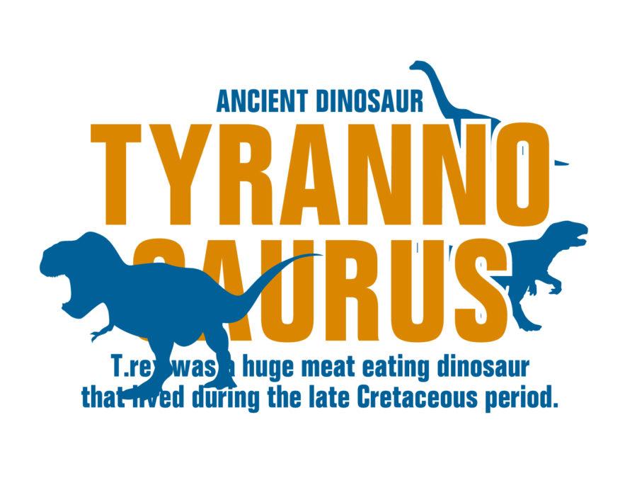 恐竜のイラスト素材 - 【恐竜-001】
