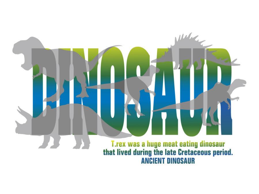 恐竜のイラスト素材 - 【恐竜-002】
