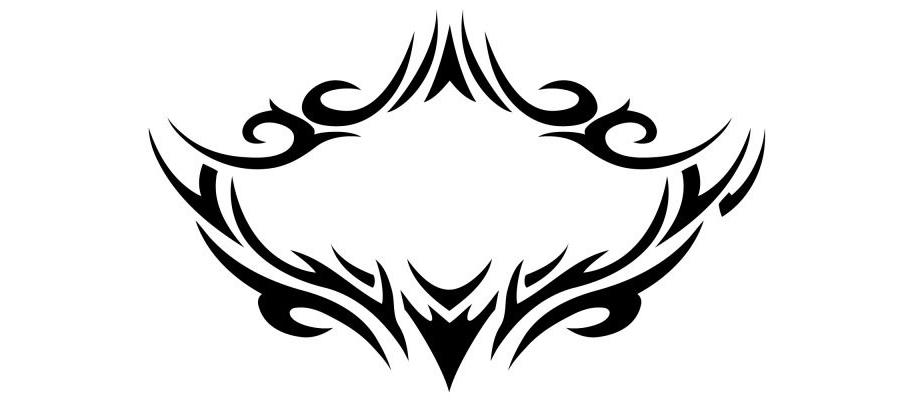 トライバルタトゥー・デザイン(胸・背中) - 【TRIBAL TATOO-E】