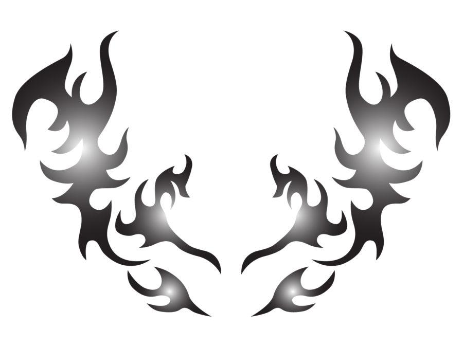 トライバルタトゥー・デザイン(胸・背中) - 【TRIBAL TATOO-C】